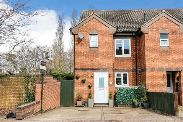 2 Bedrooms End Of Terrace House for sale in Maynard Drive, St Albans, Hertfordshire