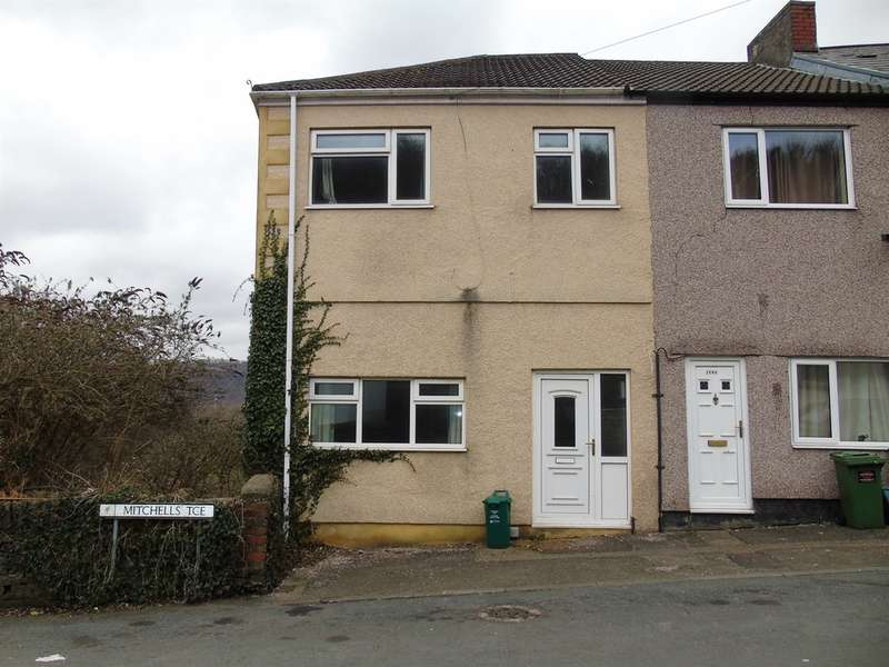4 Bedrooms End Of Terrace House for sale in Mitchell Terrace, Pontypridd