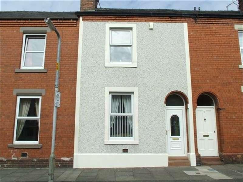 2 Bedrooms Terraced House for sale in CA1 2QE Herbert Street, off London Road, Carlisle, Cumbria