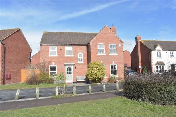 4 Bedrooms Detached House for sale in Maxstoke Close, Walton Cardiff, Tewkesbury, Gloucestershire