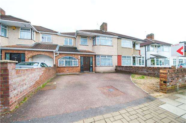 5 Bedrooms Terraced House for sale in Winchester Road, KENTON, Middlesex, HA3 9PD