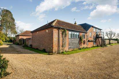 5 Bedrooms Barn Conversion Character Property for sale in Woodton, Bungay, Norfolk