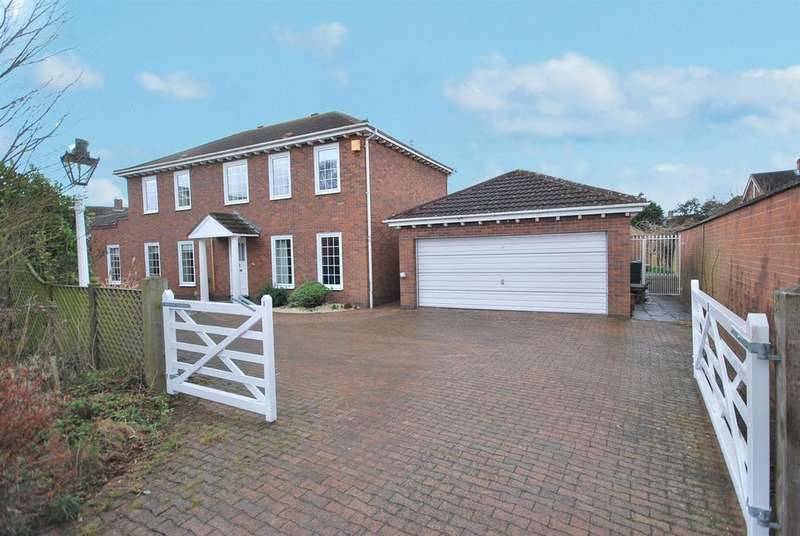 4 Bedrooms Detached House for sale in Bailey Court, Radcliffe-On-Trent, Nottingham