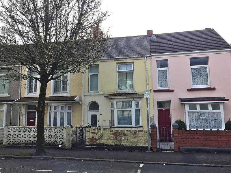 3 Bedrooms Terraced House for sale in St. Helens Avenue, Swansea