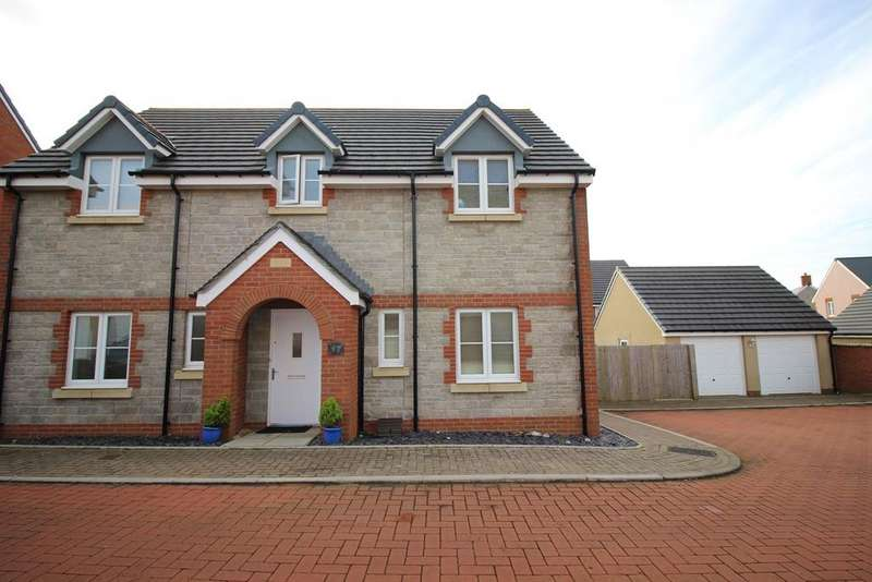4 Bedrooms Detached House for sale in Lon Yr Ardd, Coity, Bridgend, CF35