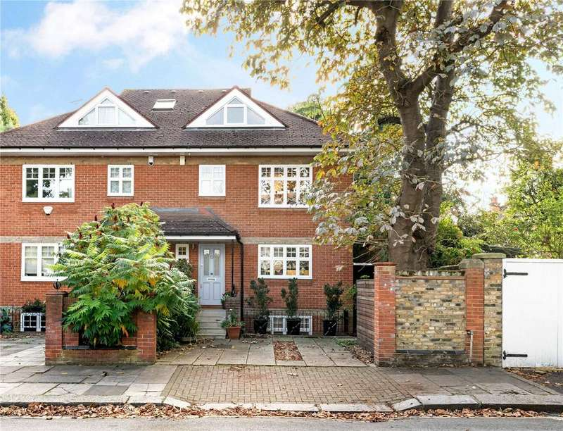 5 Bedrooms Semi Detached House for sale in Howards Lane, Putney, London, SW15