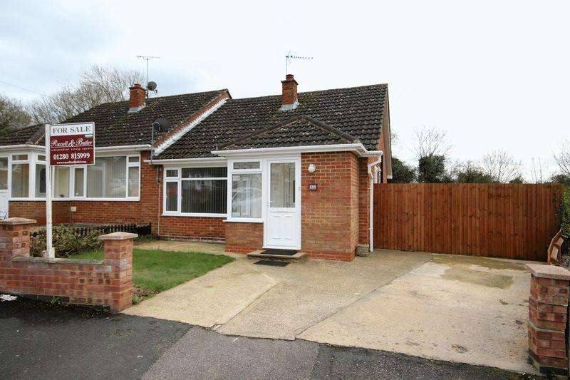 2 Bedrooms Semi Detached Bungalow for sale in Woodlands Crescent, Buckingham