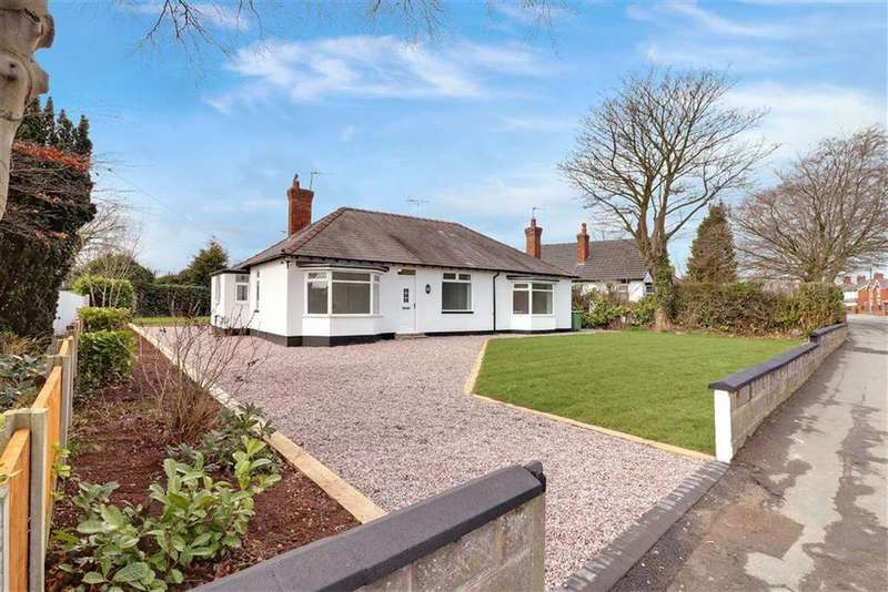 4 Bedrooms Detached Bungalow for sale in Grange Lane, Winsford, Cheshire