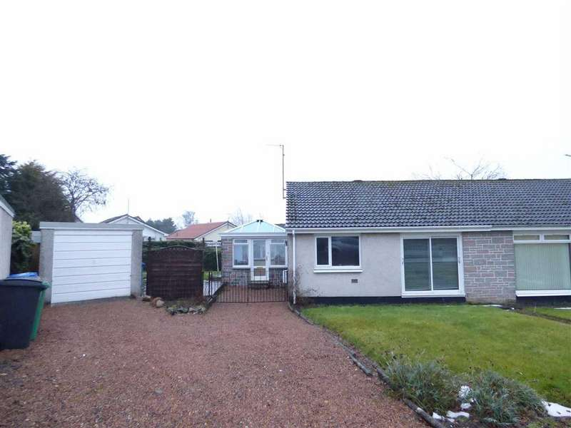 3 Bedrooms Semi Detached House for sale in Hillview Road, Balmullo, Fife