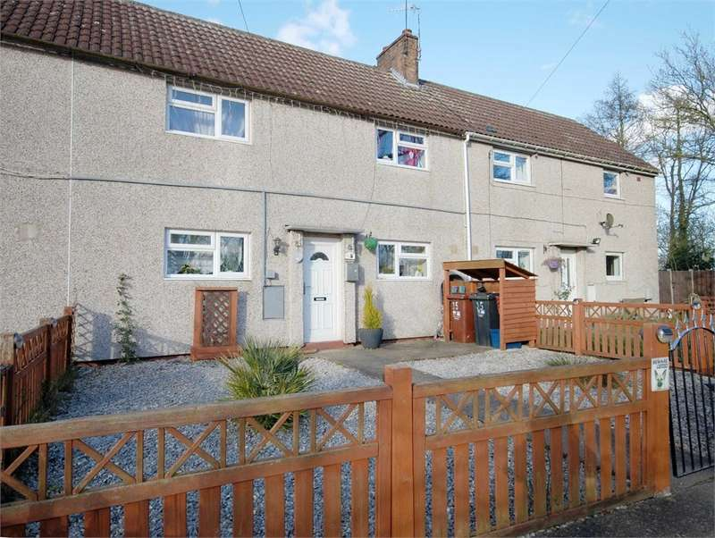 3 Bedrooms Terraced House for sale in Yelvertoft Road, Lilbourne, RUGBY, Northamptonshire