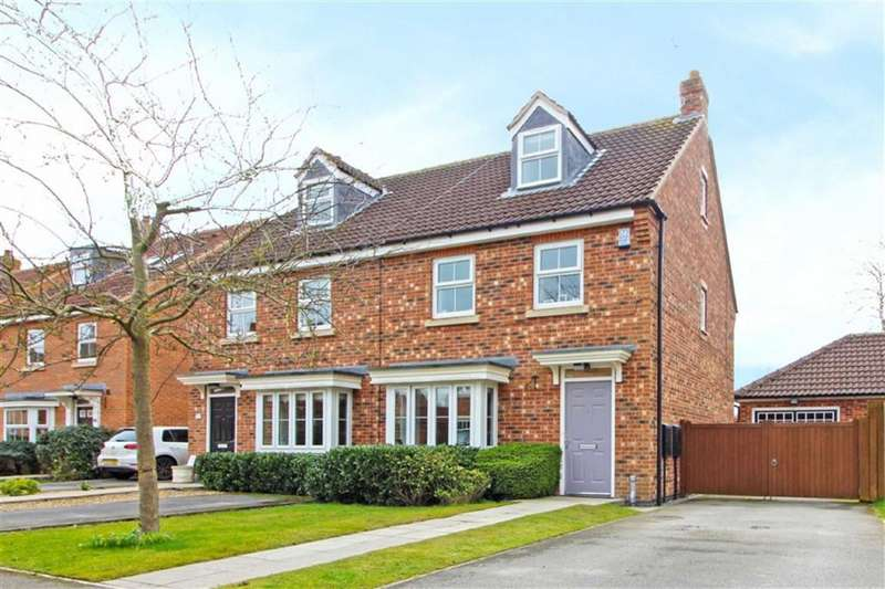 3 Bedrooms Semi Detached House for sale in Mill Chase, Nafferton, East Yorkshire