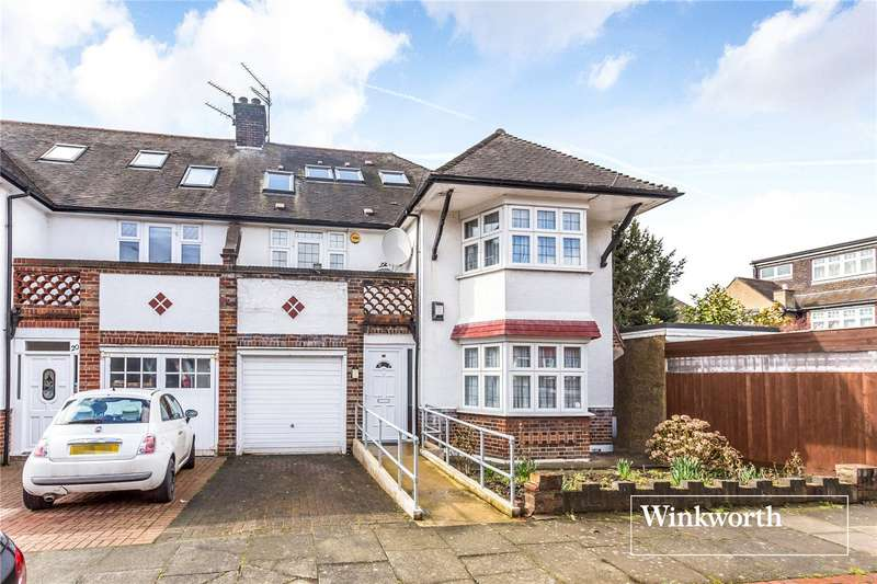 5 Bedrooms Semi Detached House for sale in Templars Crescent, Finchley, London, N3