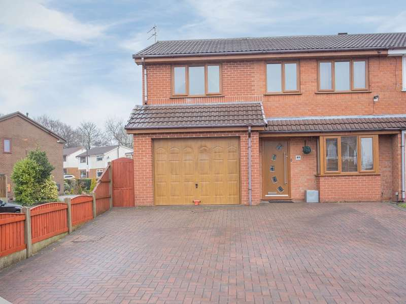 4 Bedrooms Semi Detached House for sale in Collingwood Way, Westhoughton, Bolton, BL5