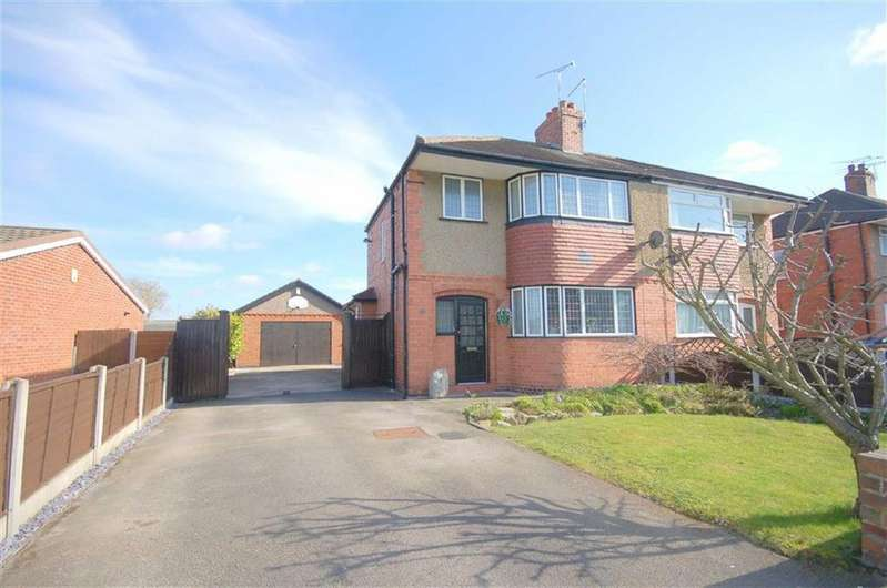 3 Bedrooms Semi Detached House for sale in Albion Street, Crewe