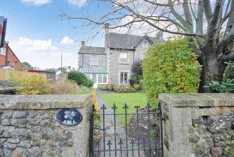 4 Bedrooms Semi Detached House for sale in The Hayes, Cheddar
