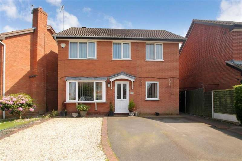4 Bedrooms Detached House for sale in Balmoral Crescent, Oswestry