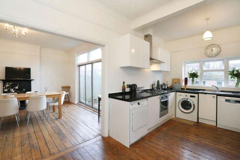 4 Bedrooms End Of Terrace House for sale in Crowborough Road, London SW17