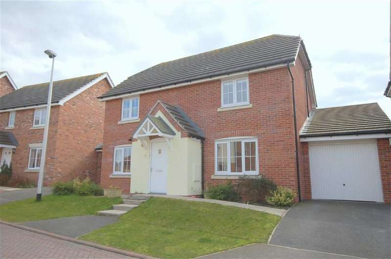 4 Bedrooms Detached House for sale in Maureen Campbell Drive, Wychwood Village, Weston