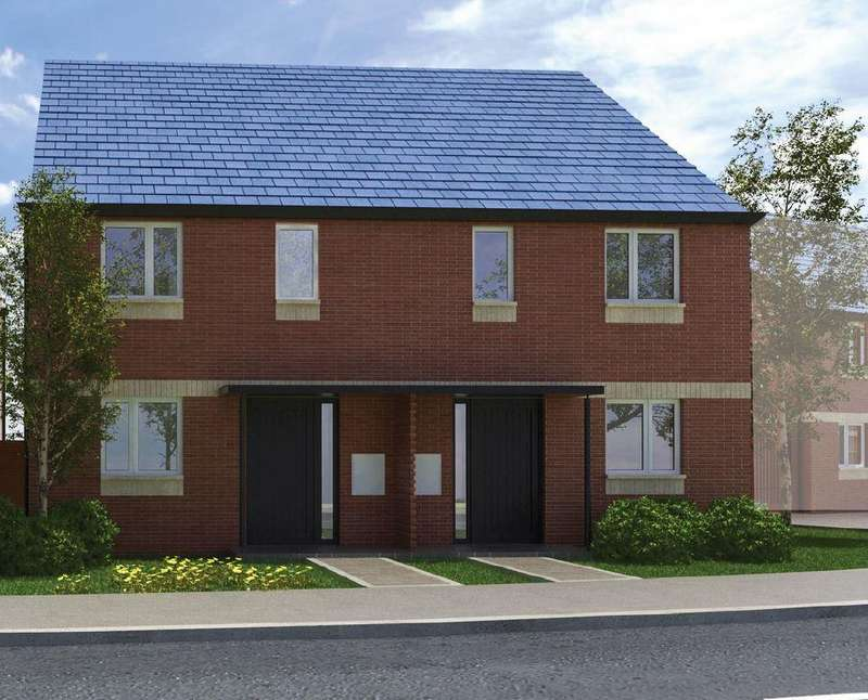 2 Bedrooms Semi Detached House for sale in Silverdale Gardens, Silverdale, Newcastle under Lyme