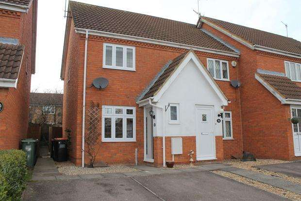 2 Bedrooms End Of Terrace House for sale in Wiseman Close, Luton, LU2