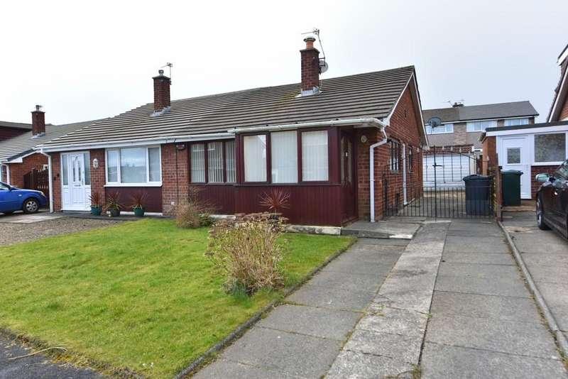 2 Bedrooms Semi Detached Bungalow for sale in Croft Avenue, Burscough