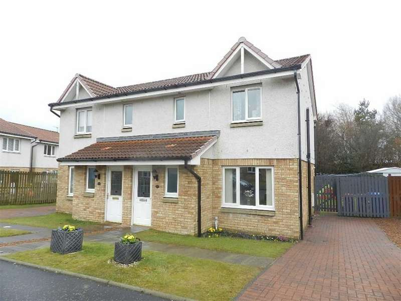 3 Bedrooms Semi Detached House for sale in Harvie Gardens, Armadale