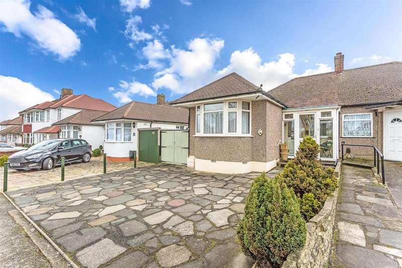 2 Bedrooms Semi Detached Bungalow for sale in Benfleet Close, Sutton