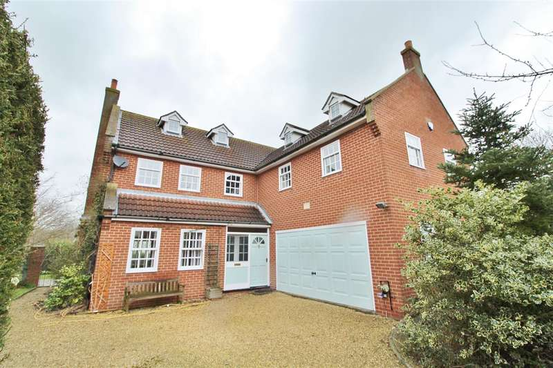 5 Bedrooms Detached House for sale in High Meadow, Gelston, Grantham