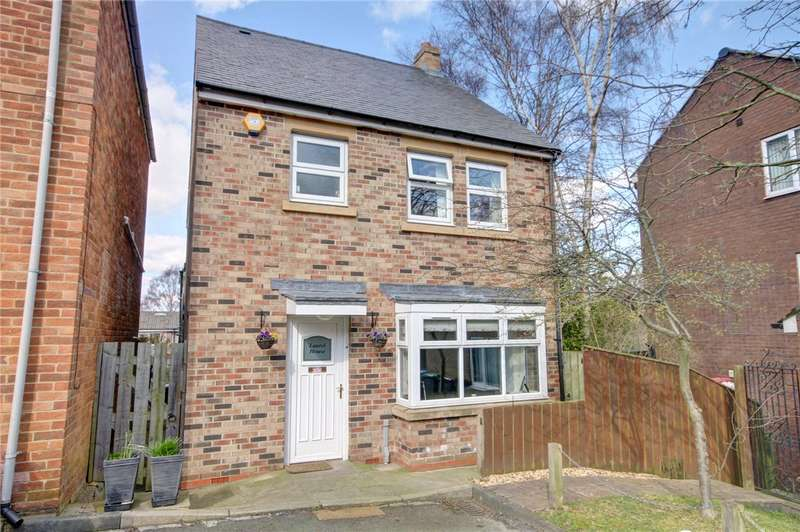 4 Bedrooms Detached House for sale in Mayorswell Close, Durham, DH1