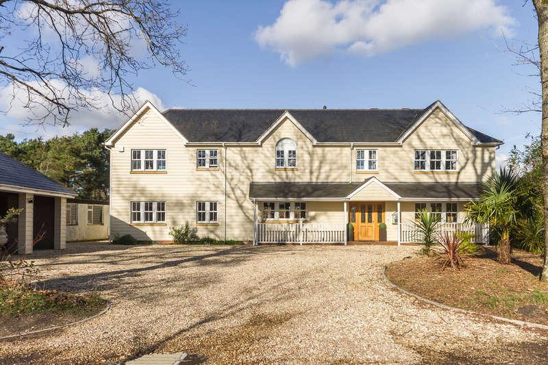 6 Bedrooms Detached House for sale in St Leonards, Ringwood, Hampshire