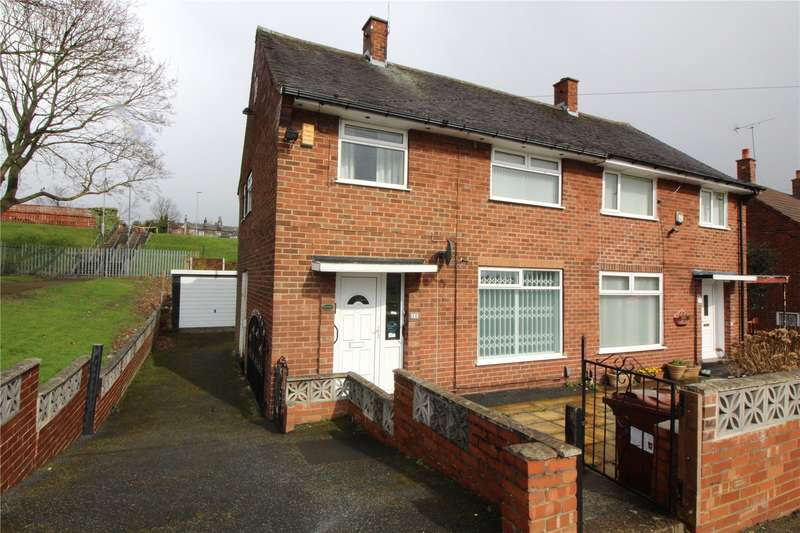 3 Bedrooms Semi Detached House for sale in Gamble Hill Drive, Leeds, West Yorkshire, LS13