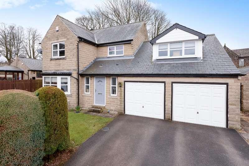 4 Bedrooms Detached House for sale in Fairfax Grove, Yeadon, Leeds, LS19 7WA