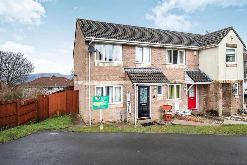 3 Bedrooms End Of Terrace House for sale in Clos Ysbyty, Cimla, Neath