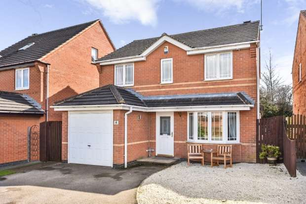 3 Bedrooms Detached House for sale in Cranbrook Way, Pontefract, West Yorkshire, WF8 2UT