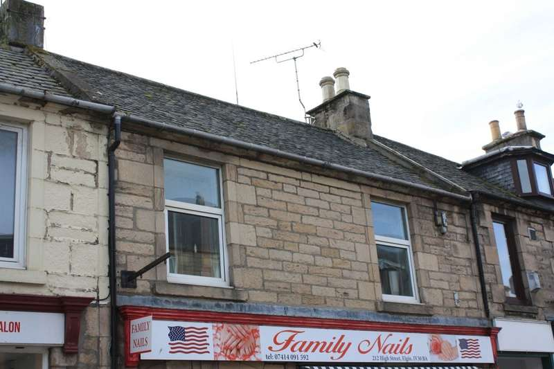 2 Bedrooms Flat for sale in High Street, Elgin, IV30