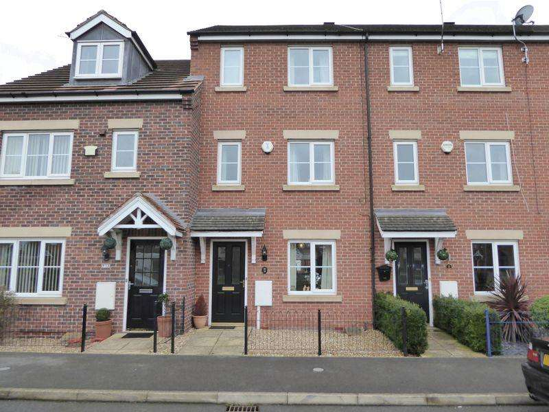 3 Bedrooms Town House for sale in Grieves Close, Retford