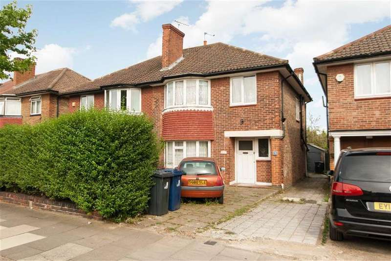 3 Bedrooms Semi Detached House for sale in St Dunstans Avenue, London