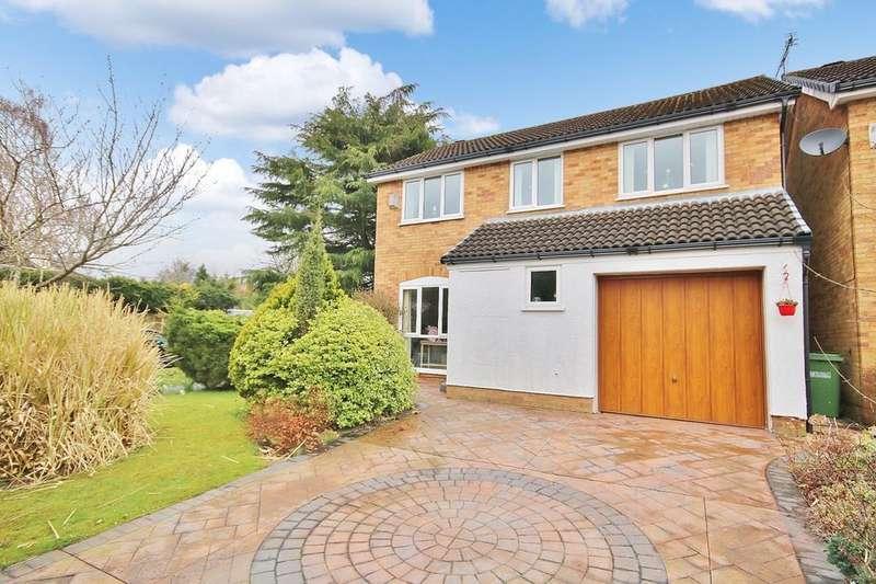 4 Bedrooms Detached House for sale in Fieldhead Road, Wilmslow