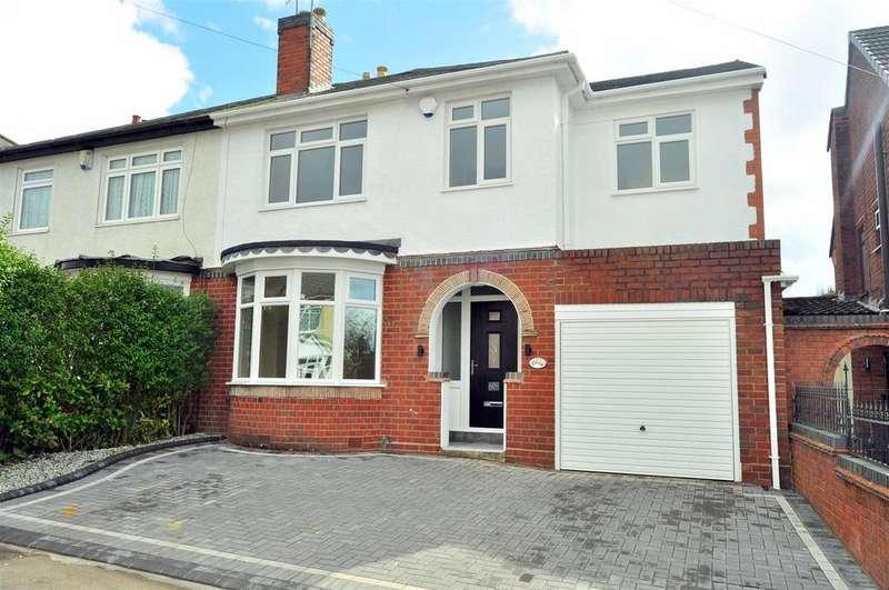 4 Bedrooms Semi Detached House for sale in Oak Barn Road, Halesowen