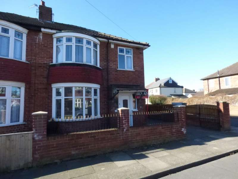 3 Bedrooms Semi Detached House for sale in Arncliffe Avenue, Stockton-On-Tees, TS18