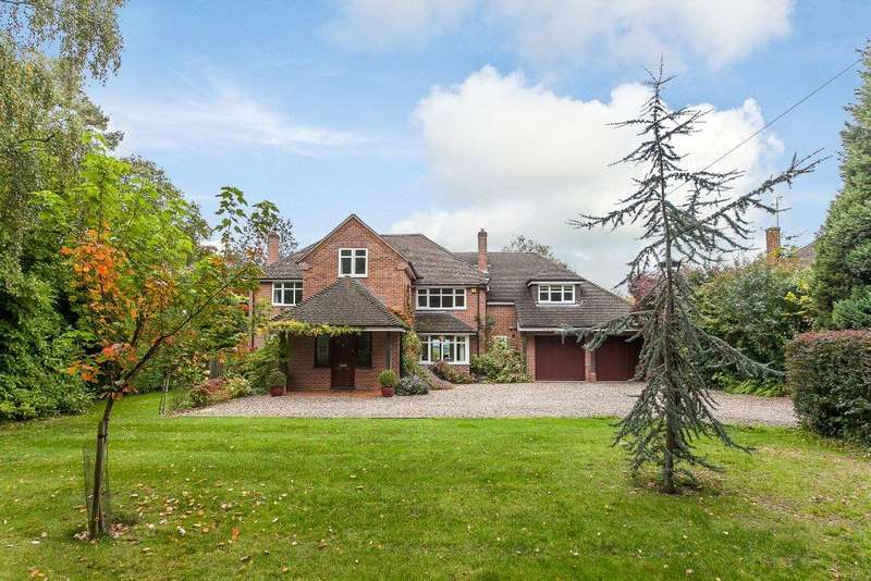 5 Bedrooms Detached House for sale in The Ridge, Cold Ash, Thatcham, Berkshire, RG18