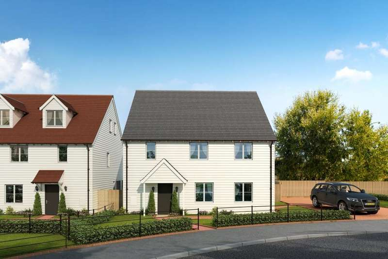 4 Bedrooms Detached House for sale in Stockwood Meadow, Staplecross, East Sussex, TN32 5QH