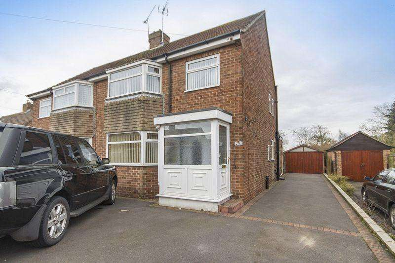 3 Bedrooms Semi Detached House for sale in DEVONSHIRE DRIVE, MICKLEOVER
