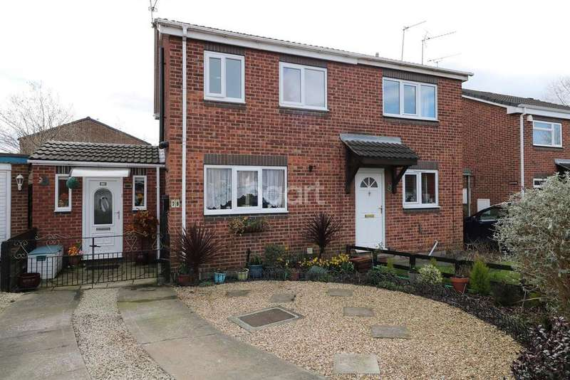 2 Bedrooms Semi Detached House for sale in Aldcliffe Crecent, Balby, Doncaster