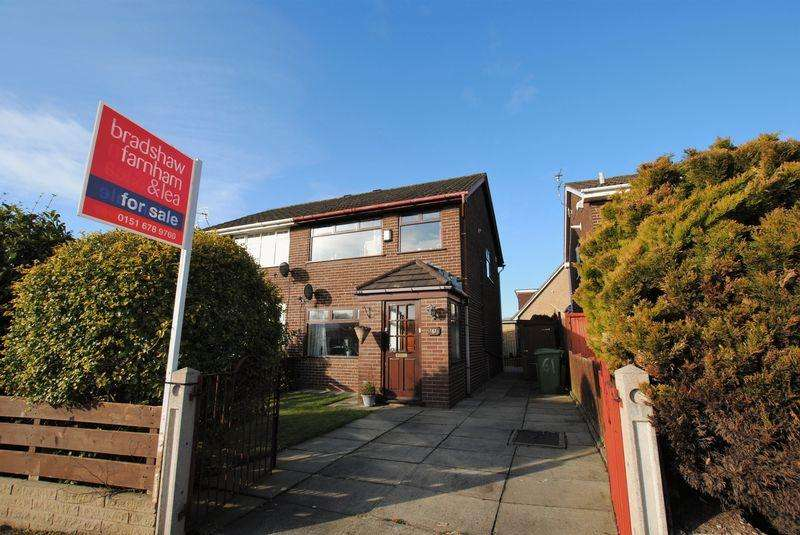 3 Bedrooms Semi Detached House for sale in Millhouse Lane, Moreton