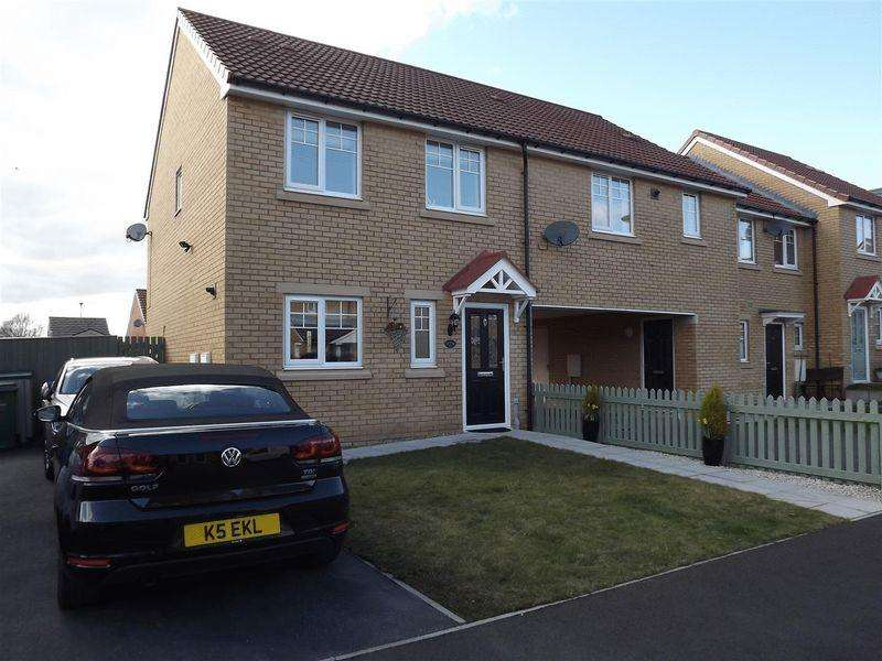 3 Bedrooms Terraced House for sale in Pickering Close, Cramlington