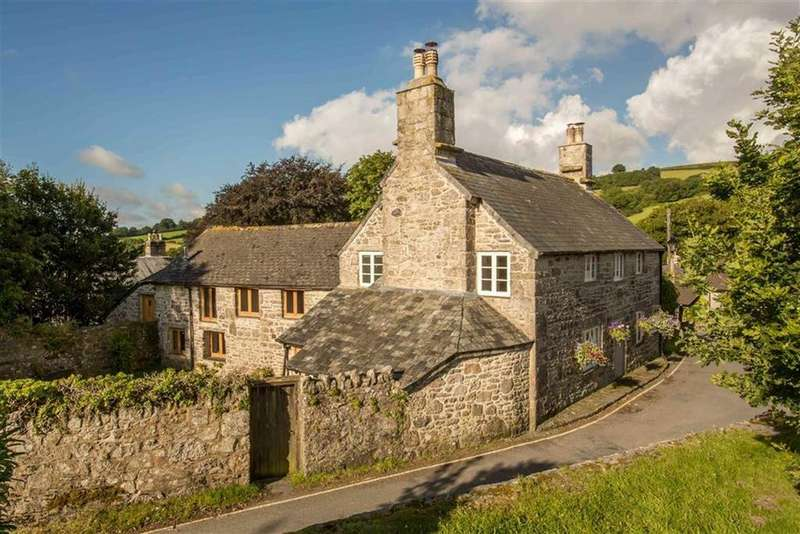 4 Bedrooms Detached House for sale in Widecombe-In-The-Moor, Devon, TQ13