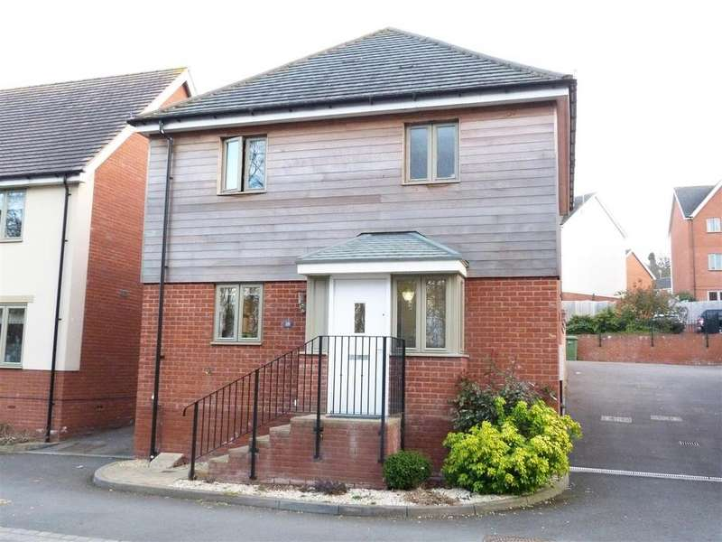 3 Bedrooms Detached House for sale in Campbell Road, Venns Park, Hereford, HR1