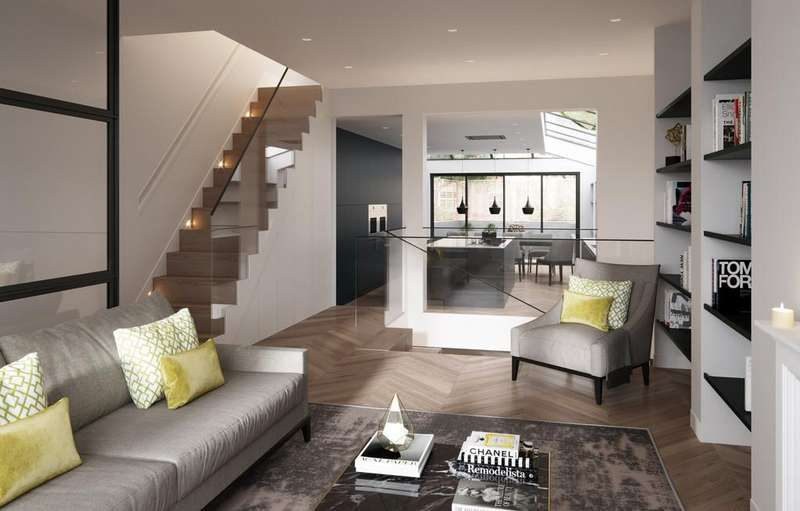 5 Bedrooms Terraced House for sale in Furness Road, Fulham, SW6
