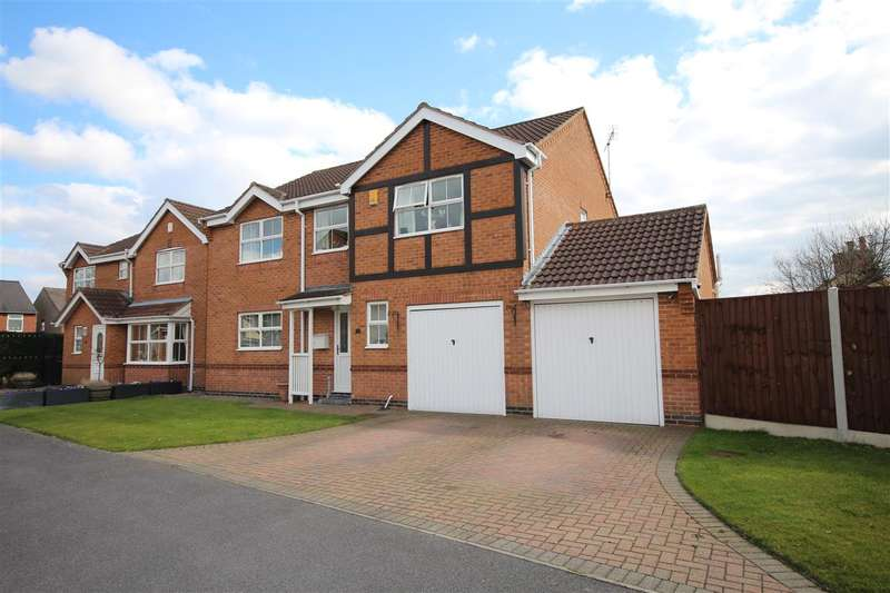 5 Bedrooms Detached House for sale in Hopton Close, Ripley